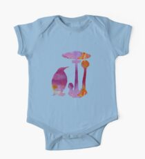 The Penguin And The Mushroom One Piece - Short Sleeve