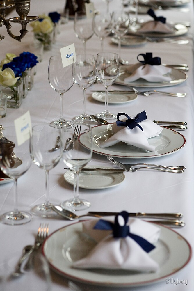 Head Table by billyboy