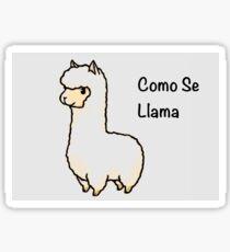 cartoon llama: stickers | redbubble