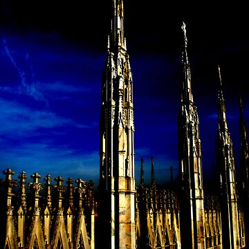 Gothic towers by daydream