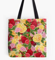 English Roses Tote Bag
