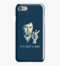 Bill Hicks It's Just A Ride iPhone Case/Skin