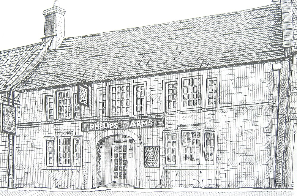 Phelips Arms, Montacute, Somerset by Tonkin