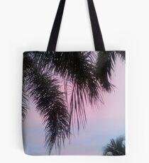 Precious Pink Palm  Tote Bag