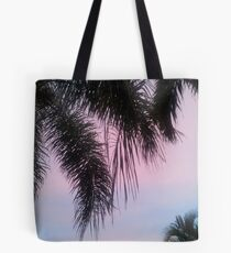 Precious Pink Palm  Tote Bag