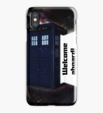 Welcome Aboard! iPhone Case