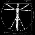 Vitruvian Man a mannequin under x-ray  by PhotoStock-Isra
