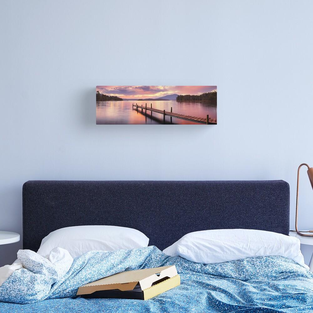 Lake Wallaga, Bermagaui, New South Wales, Australia Canvas Print