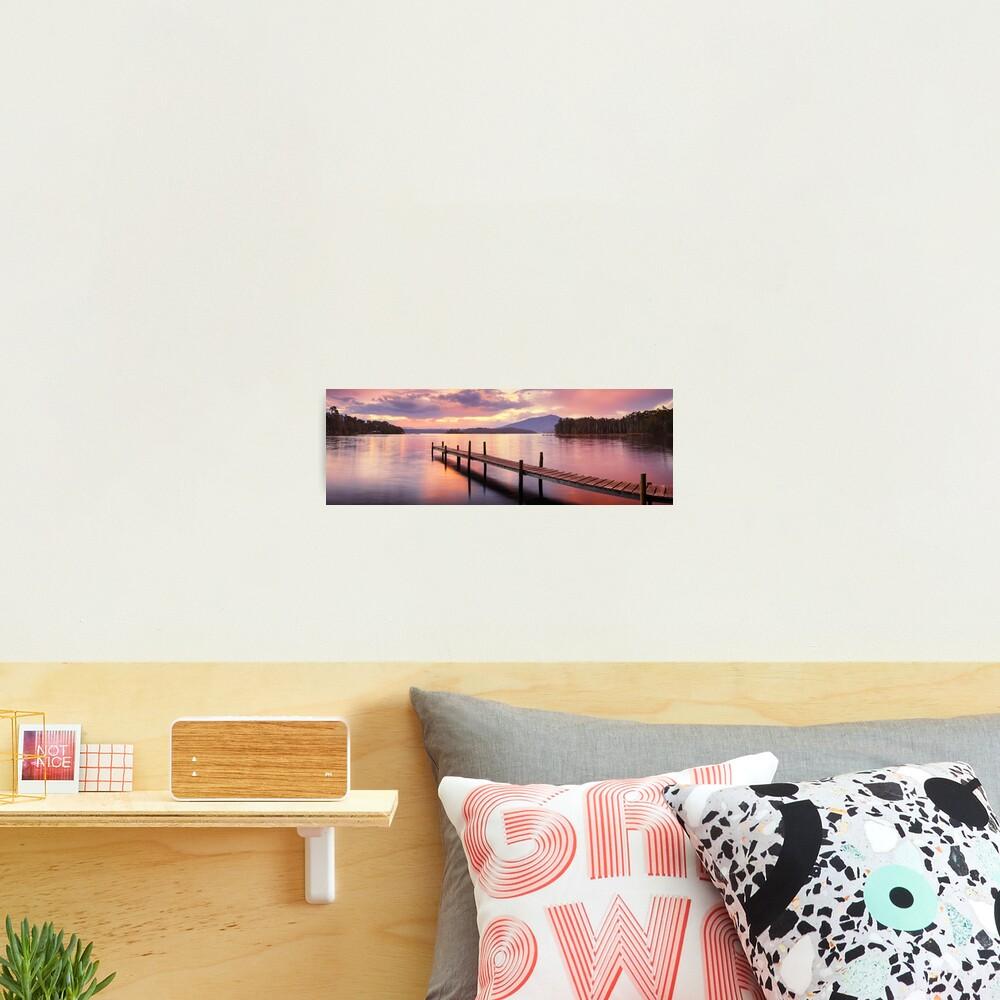 Lake Wallaga, Bermagaui, New South Wales, Australia Photographic Print
