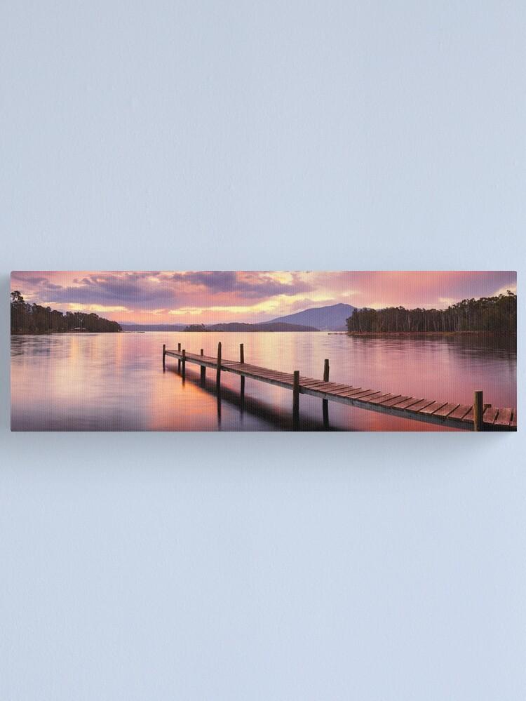 Alternate view of Lake Wallaga, Bermagaui, New South Wales, Australia Canvas Print