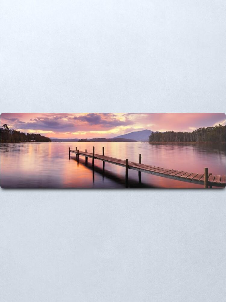 Alternate view of Lake Wallaga, Bermagaui, New South Wales, Australia Metal Print