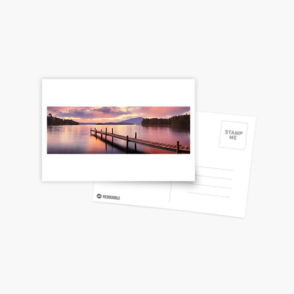Lake Wallaga, Bermagaui, New South Wales, Australia Postcard