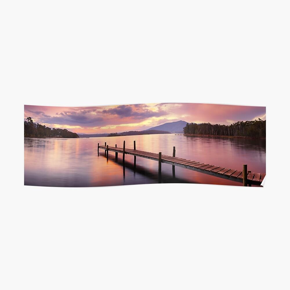Lake Wallaga, Bermagaui, New South Wales, Australia Poster