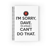 HAL - I'M SORRY DAVE - WHITE