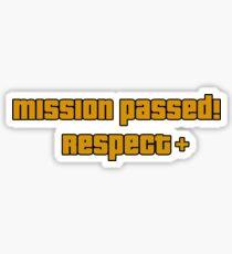 Mission Passed Sticker