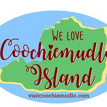 Love Coochiemudlo Sticker by coochiemudlo