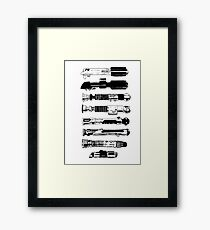 Weapons From A More Civilized Age Framed Print