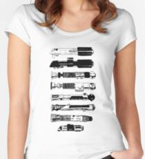 Weapons From A More Civilized Age Women's Fitted Scoop T-Shirt