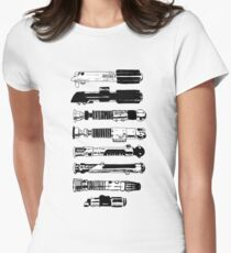 Weapons From A More Civilized Age Womens Fitted T-Shirt