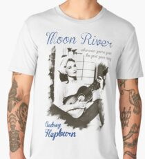 Audrey Hepburn Men's Premium T-Shirt