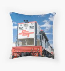 SCT 001. First cab off the rank. Throw Pillow