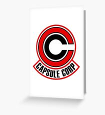 corp capsule Greeting Card