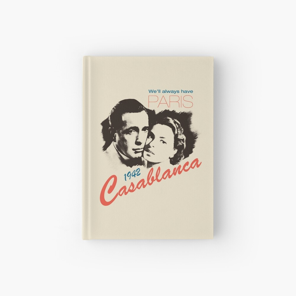 Casablanca Hardcover Journal