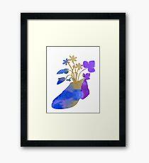 Shoeflowers Framed Print