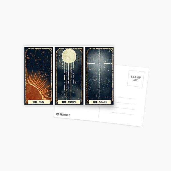 Sun / Moon / Stars Postcard
