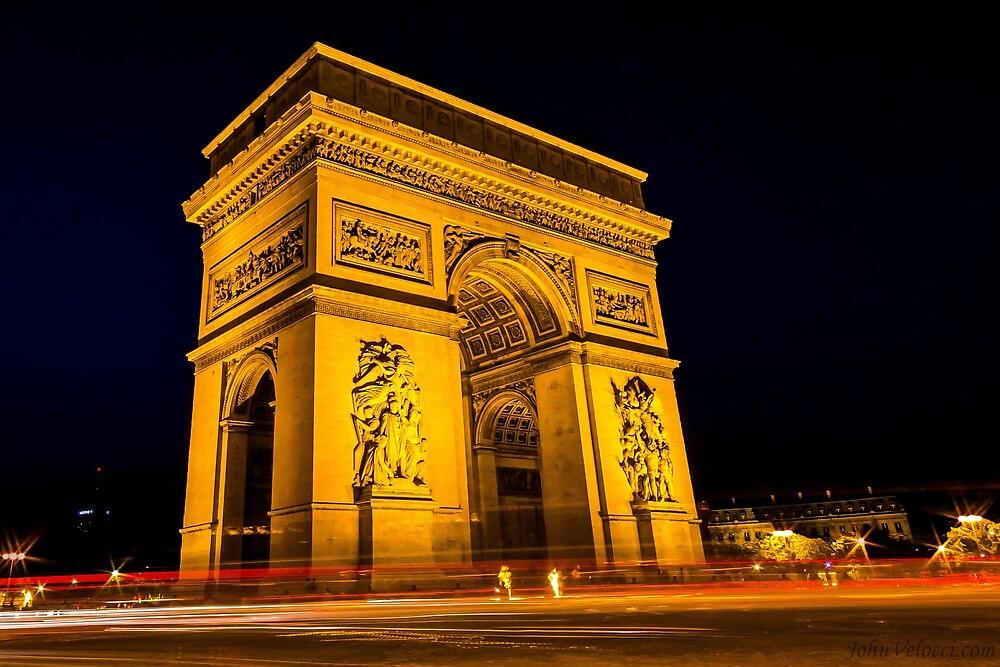 Arc De Triomphe 5 by John Velocci
