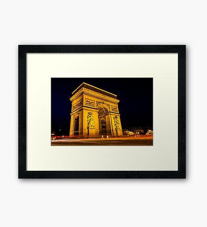 Arc De Triomphe 5 Framed Print