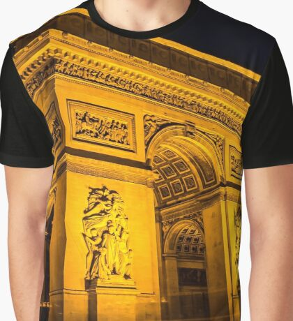 Arc De Triomphe 5 Graphic T-Shirt
