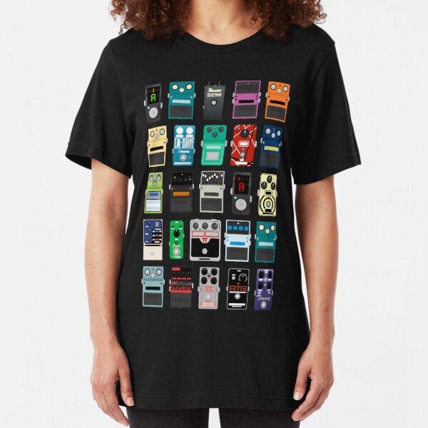 Pedal Board #2 Slim Fit T-Shirt