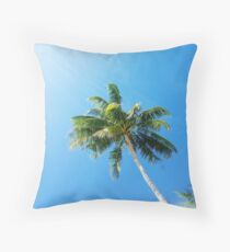 Keep Palm & Carry On Throw Pillow