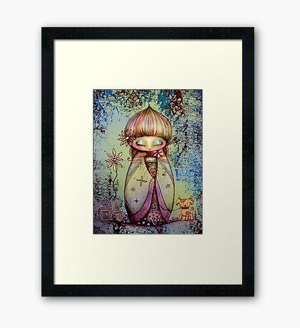 kawaii Framed Print