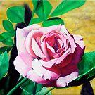 Little Pink Rose by Matthew  Bates