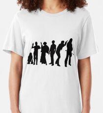 Millenium Falcon Crew Slim Fit T-Shirt