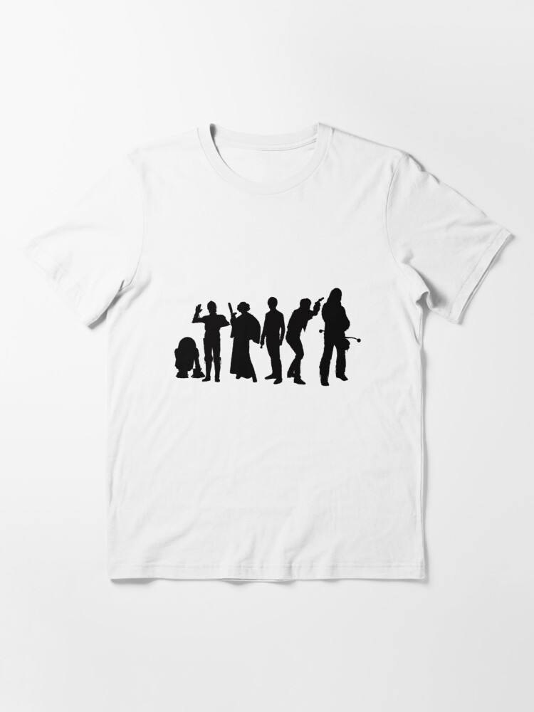 Alternate view of Millenium Falcon Crew Essential T-Shirt