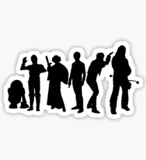 Millenium Falcon Crew Sticker