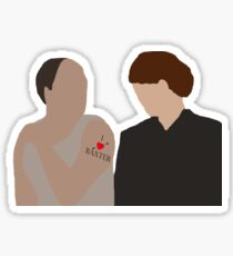 DA: Baxter e Molesley Sticker