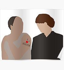 DA: Baxter e Molesley Poster