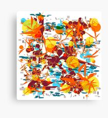 foliage folie Canvas Print
