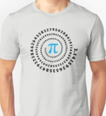 Pi, π, Spiral, Mathematics, Pi Day, Infinity,  Slim Fit T-Shirt