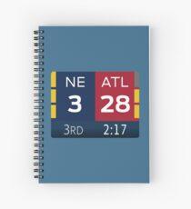 NE 3 ATL 28 Spiral Notebook