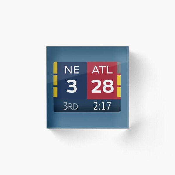 NE 3 ATL 28 Acrylic Block