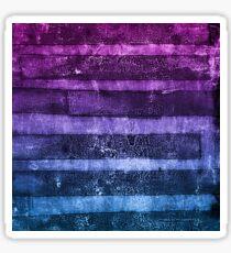 monoprint stripes 1 Sticker