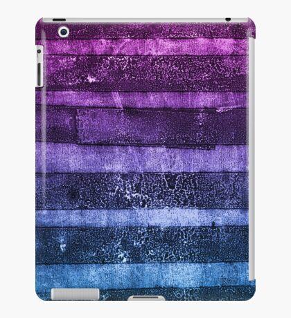 monoprint stripes 1 iPad Case/Skin