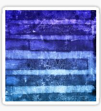 monoprint stripes 2 Sticker