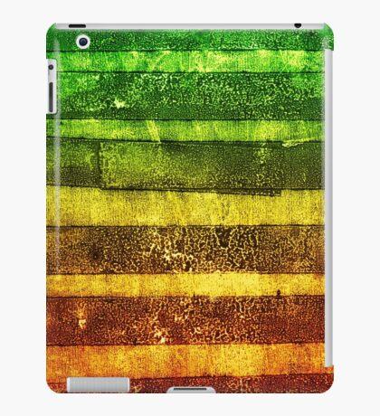 monoprint stripe iPad Case/Skin