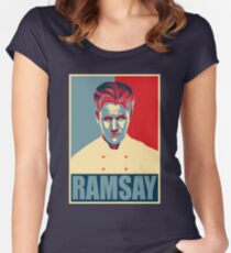 Ramsay Women's Fitted Scoop T-Shirt